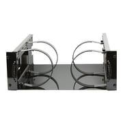 Rocstor® Pro-M RM-DUAL 4U Black Mounting Bracket for Mac Pro