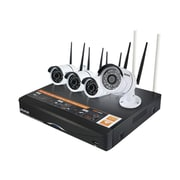 plustek NW414K00HD000-G11 Wireless/Wired Outdoor Video Surveillance System