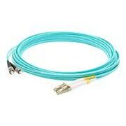 AddOn 7m LC (Male) to ST (Male) Aqua OM4 Duplex LSZH LOMM Patch Cable