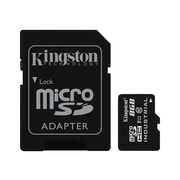 Kingston® Industrial SDCIT Class 10/UHS-I 8GB microSDHC Flash Memory Card with SD Adapter