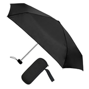 "Natico Traveler Umbrella 36"" Arc Black (60-113-BK)"