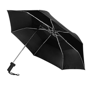 "Natico  Vented Sidekick Umbrella  42"" Arc Black (60-120-BK)"