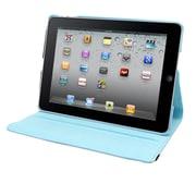 """Natico iPad Mini 4 Faux Leather 360 Degree Rotating Case 7.9"""" Light Blue (60-IM4-360-LBL)"""