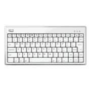 Adesso® WKB-1010BW Bluetooth 3.0 Wireless Mini Keyboard, White