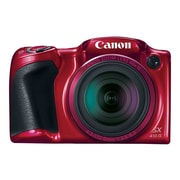 Canon PowerShot SX410 IS 20 Megapixel Compact Digital Camera, 40x Zoom, 4.3 mm to 172 mm, Red
