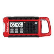 Midland® ER210 E+READY Weather Alert Radio, Black/Red
