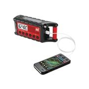 Midland® ER310 +READY Emergency Crank Weather Alert Radio, Red/Black