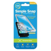 Simple Snap® Tempered Glass Screen Protector for Apple iPhone 5/5S/SE Plus High Definition (HD) Tempered Glass