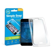 Simple Snap® Tempered Glass Screen Protector for Apple iPhone 6/6S High Definition (HD) Tempered Glass