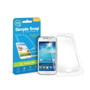 Simple Snap® Tempered Glass Screen Protector for Samsung Galaxy S4 High Definition (HD) Tempered Glass