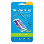 Simple Snap® Tempered Glass Screen Protector foSamsung Galaxy Note 4 Plus High Definition (HD) Tempered Glass