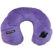 Travel Smart By Conair Ts44pur Ez Inflate Fleece Neck Rest (purple)