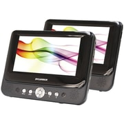 "Sylvania 7"" Dual-screen Portable DVD Player"