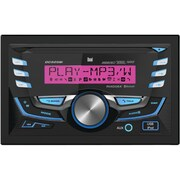 Dual Double-din In-dash CD AM/FM Receiver With Bluetooth & Pandora Internet Radio