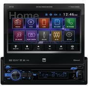 "Dual 7"" Single-din In-dash DVD Receiver With Motorized Touchscreen & Built-in Bluetooth®"