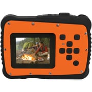 Coleman 12.0 Megapixel Minixtreme HD Video Waterproof Digital Camera Kit (orange)