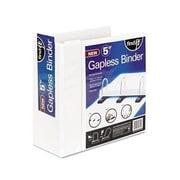 """Find It® Gapless Binder, 5"""", White (FT07031)"""