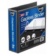 """Find It® Heavy Duty Flat View Binder, 3"""", Black (FT07073)"""