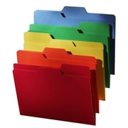 Find It® All-Tab File Folders, Letter, 18/Pack, 5 Color Assortment, (FT07173)