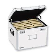 Vaultz® Locking Storage Chest, Letter/Legal, White (VZ00169)