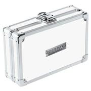 "Vaultz Locking Pencil Box, 5.5"" x 8.25"" x 2.5"", White (VZ00178)"