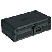 Vaultz Locking Utility Box with Combination Lock, Black on Black (VZ00192)