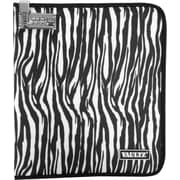 Vaultz® Locking Notebook/Tablet Cover, Small, Zebra (VZ00757)