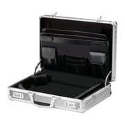 "Vaultz® Locking Laptop Case, 18"" x 14.25"" x 5"", Treadplate (VZ00808)"