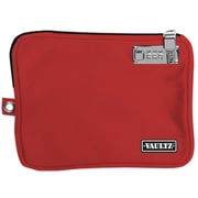 Vaultz® Locking Pool Pouch with Tether, Medium, Red (VZ00814)