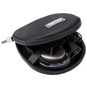 Vaultz® Locking Soft Sided Headphone Case, Medium, Black (VZ00874)