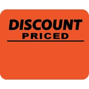 "Discount Sticker, 1 3/6"" x 1.5"", 1000/Roll"