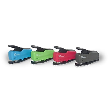 Staples® One-Touch™ Mini Stapler, 12-Sheet Capacity, Assorted Colours