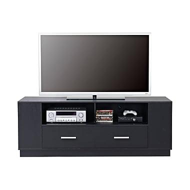 Homestar 2-Drawer TV Stand, Black, (Z1510558)