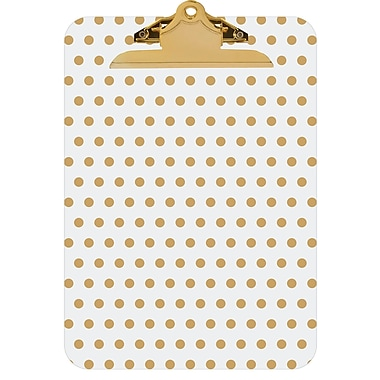 Merangue Fashion Clipboard, Letter Size, Assorted Designs
