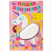 Educational Insights Playfoam® Greeting Cards, Set of 4 Happy Birthday Cards, Unicorn Design (1923U)