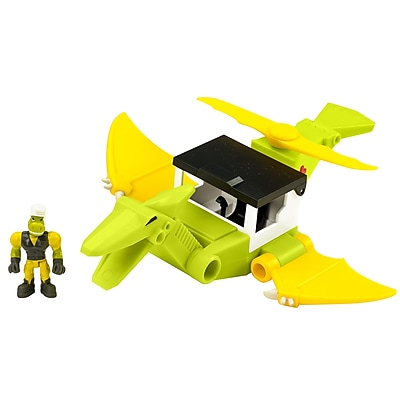 Educational Insights Dino Construction Company Rescue Crew Cyclone the Pteranodon Helicopter (4161) 2140331