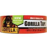"Gorilla Duct Tape, 2"" x 30 yds., White, 1/Case (6025001)"