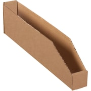 "Partners Brand Open Top Bin Boxes, 2"" x 18"" x 4-1/2"", Kraft, 50/Bundle (BINBWZ218K)"