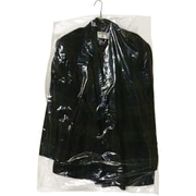 "Partners Brand Garment Bags, 0.6 Mil, 21"" x 7"" x 40"", Clear, 470/Roll (GB21740)"