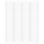 "Tape Logic® Weather-Resistant Laser Labels, 1 3/4"" x 1/2"", White, 8000/Case (LL250WR)"