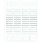 "Tape Logic® Rectangle Laser Labels, 1 3/4"" x 1/2"", Clear, 8000/Case (LL220CL)"