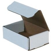 "Partners Brand Corrugated Mailers, 10"" x 8"" x 2"", White, 50/Bundle (M1082)"