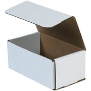 "Partners Brand Corrugated Mailers, 11"" x 8"" x 4"", White, 50/Bundle (MLR1184)"