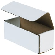 "Partners Brand Corrugated Mailers, 17"" x 6"" x 6"" White, 50/Bundle (M1766)"