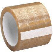 "Tape Logic Natural Rubber Tape,  2.3 Mil, 3"" x 110 yds., Clear, 6/Case (T9055106PK)"