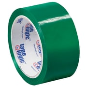 "Tape Logic Carton Sealing Tape, 2"" x 55 yds., Green, 18/Case (T90122G18PK)"