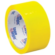 "Tape Logic Carton Sealing Tape, 2"" x 55 yds., Yellow, 18/Case (T90122Y18PK)"