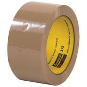 "3M™ Scotch  372 Carton Sealing Tape, 2"" x 55 yds., Tan, 6/Case (T901372T6PK)"