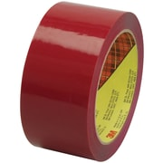 "3M™ Scotch  373 Carton Sealing Tape, 2"" x 55 yds., Red, 36/Case (72381-0)"