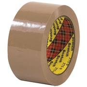 """3M™ Scotch  375 Carton Sealing Tape, 2"""" x 55 yds., Tan, 6/Case (T901375T6PK)"""